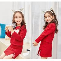 Buy cheap Girls dress 17.Spring dress, new girl fashion suit, big children's blouse, skirt, two pieces. from wholesalers