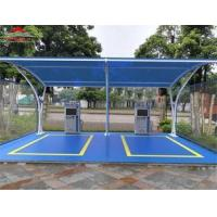Buy cheap Shopping Center 2 Or 3 Car Canopy Tent / Outdoor Shade Structures from wholesalers