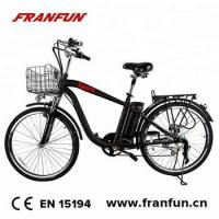 Buy cheap lithium battery ebike electric bike with pedal from wholesalers