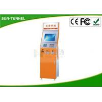 Buy cheap Ticket Vending Gift Card Dispenser Payment Kiosk Bill Credit Card Moblie Nfc Cheque Pay Optional from wholesalers