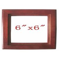 Buy cheap Glass Houseware 6 x 6 Standard frames in Rosewood from wholesalers