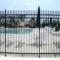 Buy cheap Ornamental Aluminum Swimming Pool Fence Designs from wholesalers