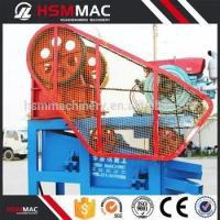 Buy cheap CE gravel diesel engine mini jaw crusher from wholesalers