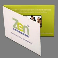 Wholesale EF-V001 4.3 inch hardcover Fashion Design Video Advertising Cards from china suppliers