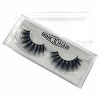 Buy cheap New styles super soft 3d mink eye lashes private label natural synthetic eyelashes from wholesalers