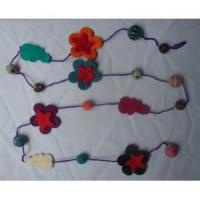 Wholesale Handmade Felt Products Felt necklaces from china suppliers
