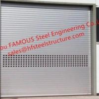 Buy cheap Overhead Rolling Shutter Curtain Doors For Industry High Performance Rapid-roll Exterior from wholesalers