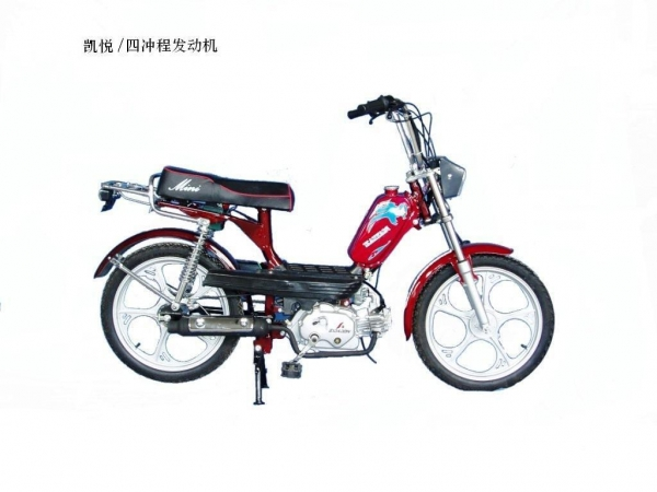 Moped scooter gas